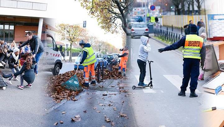 Agents municipaux de Bonneuil, animateur, police municipale, propreté urbaine et accueil