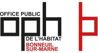 Logo office public habitat Bonneuil