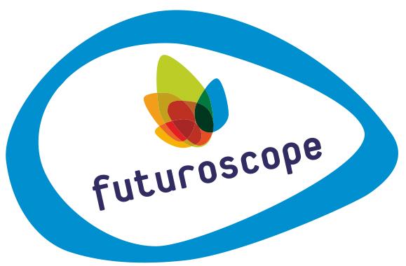 Logo du parc Futuroscope